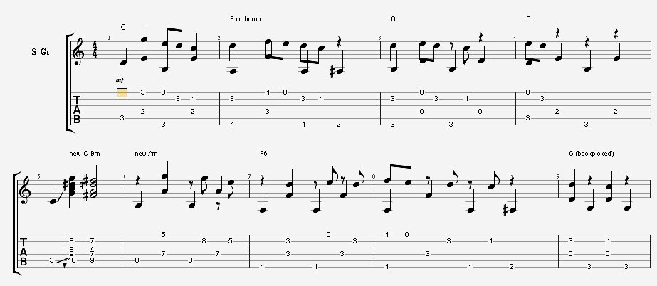 Chap 14-Man Of Constant Sorrow--Play Great Fingerpicking Guitar